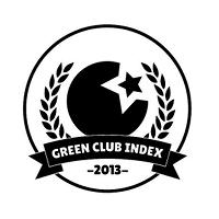 Logo des Green Club Index Awards für nachhaltige Clubs Mannheim