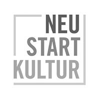 Logo der Neustart Kultur Förderung des Bundes