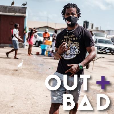 Bild von jungem Mann aus der Karibik für Out + Bad Party Rhein Neckar